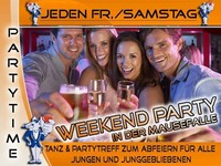 Jeden Samstag – Weekend Party Mausefalle Linz@Mausefalle