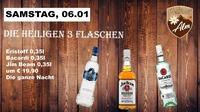 Die Heiligen 3 Flaschen@Manglburg Alm
