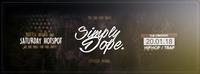 SIMPLY DOPE // 2ND ROUND // CITY CLUB VIENNA // 16+@Club Nautica
