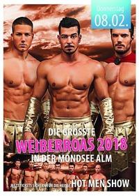 Weiberroas - Hot Men Show@Mondsee Alm