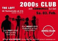 2000s Club mit KOMMUNE22 DJ-Set!