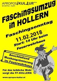 Faschingsumzug Hollern@Feuerwehrhaus Hollern