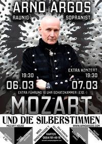 Mozart und die Silberstimmen - Solokonzert mit Arno Argos Raunig@Mozarthaus im Kloster des Deutschen Ordens