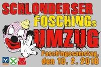 Schonderser FOSCHINGs Umzug@Dorfzentrum