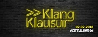Klang Klausur@Kottulinsky Bar