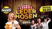 Lederhosen Ball mit ZWIRN live!@be Happy