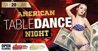 American Table Dance Night@Cheeese