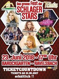 Das große Fest der SCHLAGERSTARS 2018@Trixis Ravelsbacherhof