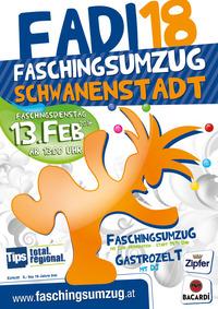 FADI18 - Faschingsumzug Schwanenstadt@Stadtplatz