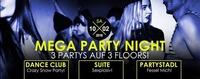 MEGA PARTY NIGHT – 3 Partys auf 3 Floors!@Bollwerk