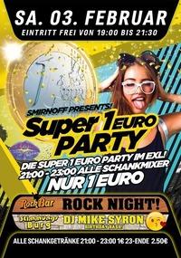 Smirnoff Presents Die Super 1€ Party@Excalibur