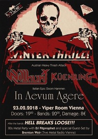 Winter Thrill * Wildhunt * Küenring * In Aevum Agere@Viper Room