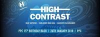 15 Jahre PPC: High Contrast (UK / Hospital Records)@P.P.C.