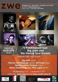 S FUNKtioniert feat. Big John and the Vienna Soul Society@ZWE