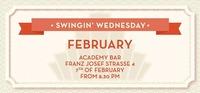 Swingin' Wednesday February 2018@academy Cafe-Bar