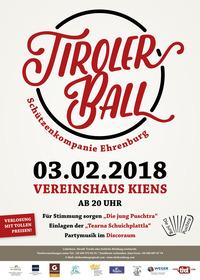 Tiroler Ball in Kiens@Vereinshaus Kiens