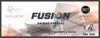 Fusion - FRIDAY SPECIAL - KJU CLUB@Ride Club