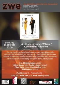 A tribute to Nancy Wilson / Cannonball Adderley@ZWE