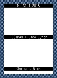 POSTMAN + Lady Lynch@Chelsea Musicplace