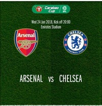 Arsenal vs Chelsea@Chelsea Musicplace