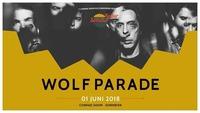 Wolf Parade • 01. Juni 2018 • 7. Kultursommer-Festival@Conrad Sohm