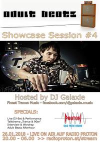 ADULT BEATZ #102 - Showcase Session 4@Proton - das feie Radio