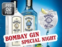 Bombay Gin Special Night@Partymaus Wörgl