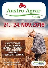 Austro Agrar Tulln 2018@Messe Tulln