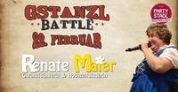 Gstanzl Battle mit Renate Maier