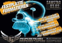 """Festplatte formatieren""@Gabriel Entertainment Center"