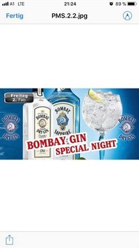 Bombay Gin Special Night@Partymaus