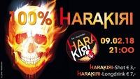 100% Harakiri@Harakiri Bar