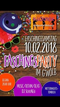 Faschingsparty im Gwöb@K-Lounge