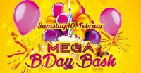 B-Day Bash Dezember Januar und Februar@Eventhouse Freilassing