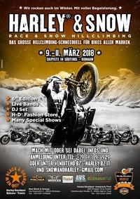 Harley&Snow® Hillclimbing@Ridnaun/Südtirol