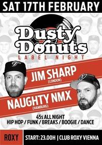 17.2. Dusty Donuts Label Night x Jim Sharp & Naughty Nmx@Roxy Club