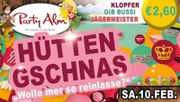 Hütten Gschnas@Party Alm Hartberg