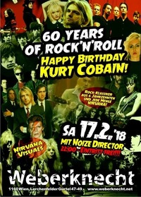60 years of Rock'n'Roll - Happy Birthday Kurt Cobain!