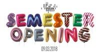 Die große Semster Opening Feierei@Säulenhalle