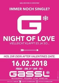 G- Night of Love@Gassl