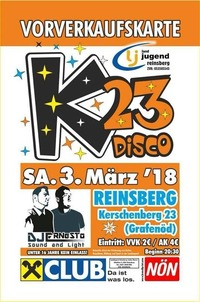 K-23 Disco@Kerschenberg