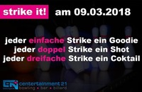 Strike it!@Centertainment21