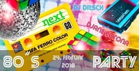Back to the 80ies@Next Bar