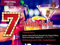 7 Sünden Party@Maurer´s