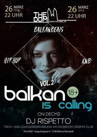 Balkan is Calling Vol2 // 24.3. // The Dom