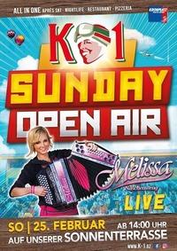 Sunday Open Air - Melissa Naschenweng@K1