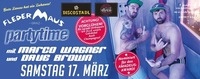 Partytime mit Marco Wagner und Dave Brown@Fledermaus Graz