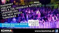 Komma Kultur Bühne beim 36. Wörgler Stadtfest@Komma