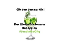 Gin Tonic Weekend@SandintheCity