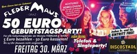 Telefon & Single PARTY + 50 Euro Geburtstagsparty@Fledermaus Graz